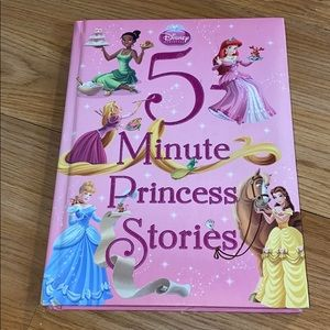 Disney 5 minutes princess stories